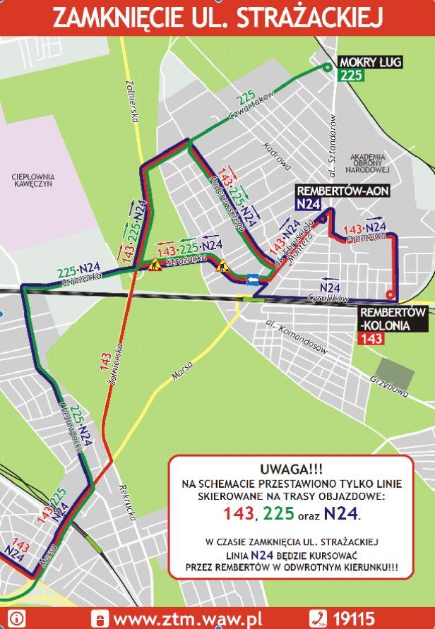 Autobusy zmienią trasy ZTM