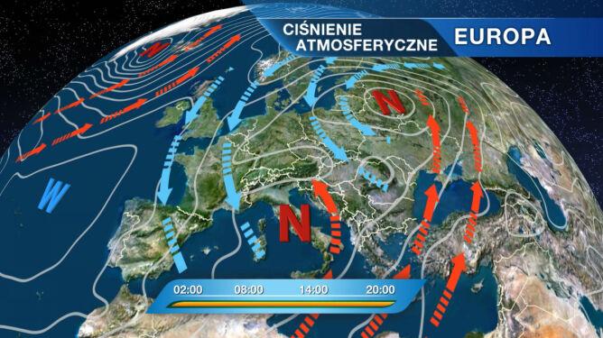 Białoruski niż kształtuje nam pogodę
