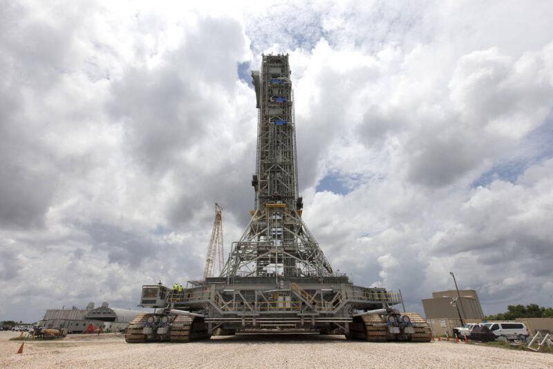 Tak wygląda mobilna wyrzutnia (NASA/Kim Shiflett)