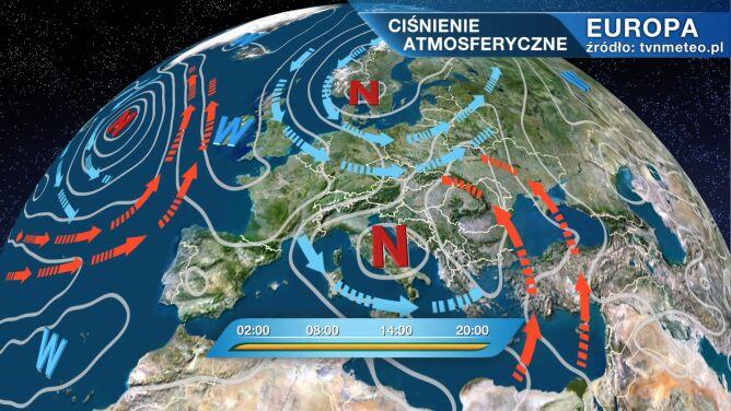 Arktyczne powietrze płynie do Polski
