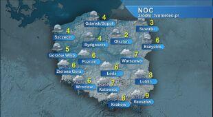 Prognoza pogody na noc 01/02.05