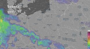 Prognozowane opady w kolejnych dniach (Ventusky.com | wideo bez dźwięku)