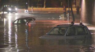Skutki ulew w północnej Belgii
