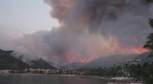 Pożar w Turcji